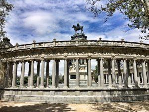Madrid_Retiro_turnagain_Spanien